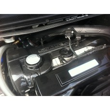 Ford Focus RS Mk2 Carbon Engine Cover (2 pc)
