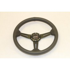 Outlaw Steering Wheel Black PVC