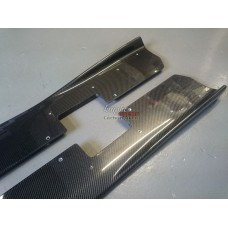 Nissan R35 GTR KR Carbon Side Skirt Extensions