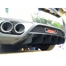 "Nissan R35 GTR ""5 Element"" Difflow Full Rear Diffuser"