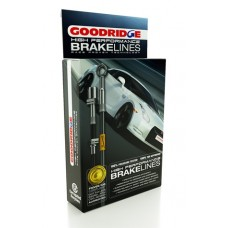 Nissan R35 GTR Zinc Plated Goodridge Brake Line Kit