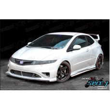 Honda Civic FN2 Type R Spec J-1 Side Steps White