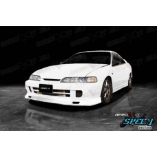 Honda Integra DC2 Spec J Front Lip Black