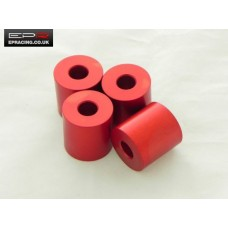 Anodised Bonnet Spacers Red