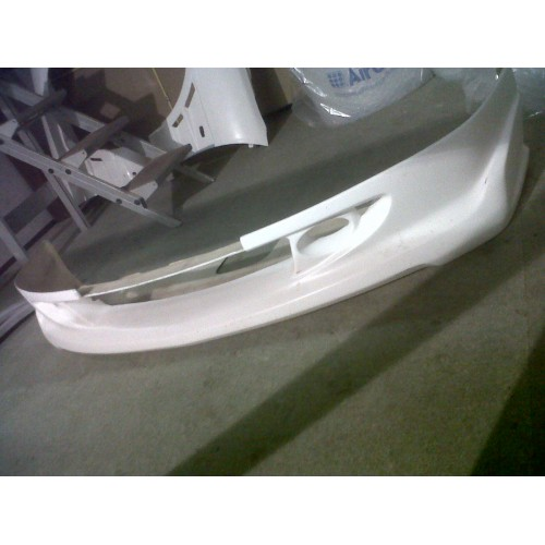 Frp Ep Mugen Front Lip X on Honda Civic Front Bumper Replacement