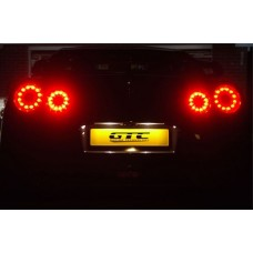 Nissan R35 GTR 4 Tail Light Kit