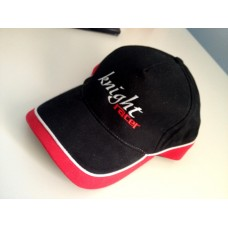 Knight Racer Red and Black Racing Cap