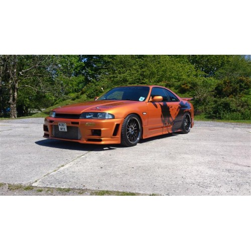 Nissan Skyline R33 GTS +25mm GTR Style Front Fenders / Wings