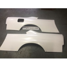 Nissan Skyline R33 GTR FRP Full Rear Quarter Panels for GTS