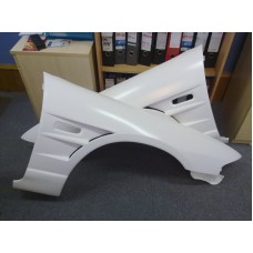 Nissan Skyline R33 GTS Vented Front Wings in FRP