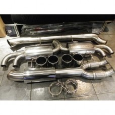 NISSAN R35 GTR SVM 102MM EXHAUST SYSTEM (WITH Y-PIPE)