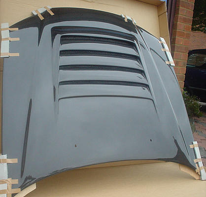Knight Racer R34 Skyline Bodykits Carbon Bonnet Spoiler