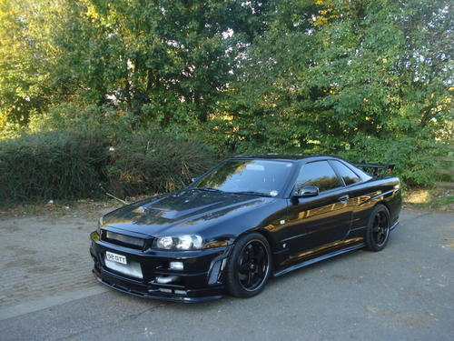 Nissan Gtr R34 For Sale >> Knight Racer - R34 Skyline Bodykits Carbon Bonnet Spoiler