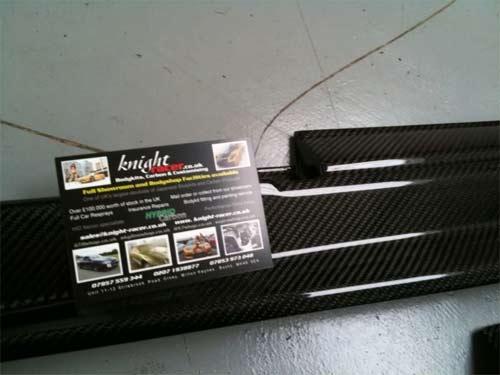 Knight-Racer - R35 GTR Carbon Bodykits