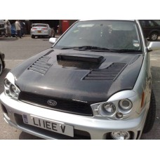 Subaru Impreza 2002 Bug Eye Vented Carbon Bonnet