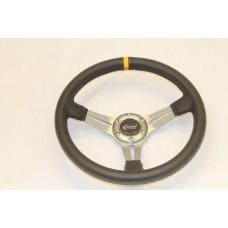Outlaw Steering Wheel PVC Grey Spoke
