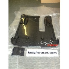 Nissan R35 GTR KR 2012+ (DBA) Hybrid Carbon Rear Undertray (Dry Carbon)