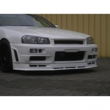 Nissan Skyline R34 GTT East Bear Spec 2 Front Bumper with Splitter - NEW IMPROVED!