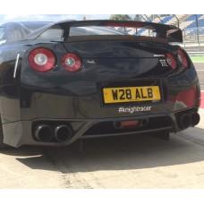 Nissan R35 GTR KR Hybrid Carbon Rear Lip / Diffuser
