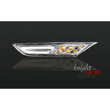 Nissan R35 GTR KR CLEAR Front LED Side Indicators with DRL light