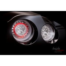 Nissan R35 GTR KR Full LED Double Halo Tail Lamps CLEAR