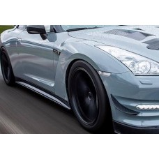 Nissan R35 GTR KR Hybrid Carbon Side Skirts