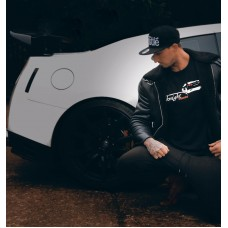 Knight Racer GTR T Shirt Black