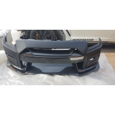Nissan R35 GTR MY17 Nismo Carbon Front Bumper (inc V Grille & Lip)