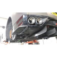 Nissan R35 GTR KR Type 2 Carbon Rear Spats