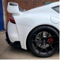 GR Supra A90 MKV TRD Style Rear Spoiler with Carbon Blade and End Caps