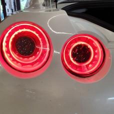 Nissan R35 GTR KR Full LED 2015 style Tail Lamps RED