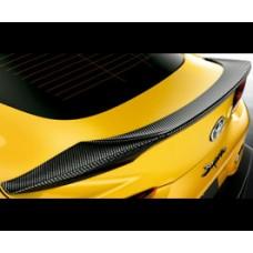 GR Supra A90 MKV TRD Carbon Boot Lip / Trunk Spoiler