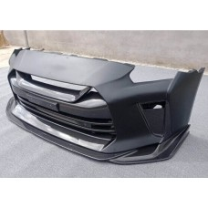 Nissan R35 GTR MY17 TS Carbon Front Bumper (inc V Grille and Lip)