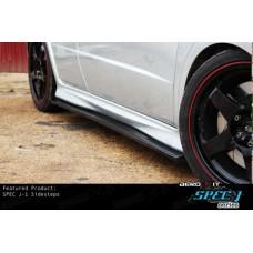 Honda Civic FN2 Type R Spec J-1 Side Steps Black