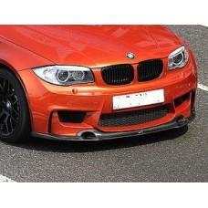 BMW 1M Revo style Carbon Front Splitter