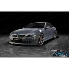 BMW 6 Series E63 Spec J1 Front Lip black