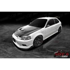 Honda Civic EK Spec R Vented Bonnet Black
