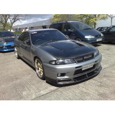 Nissan Skyline R33 GTR Top Secret HYBRID Carbon Bonnet