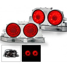 Nissan Skyline R33 Red LED Tail Lights