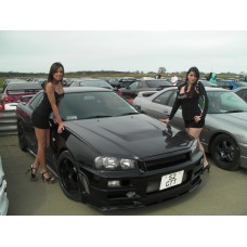 Nissan Skyline R34 GTT East Bear Spec 2 HYBRID Carbon Bonnet