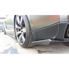 Nissan R35 GTR KR Type 1 Carbon Rear Spats