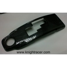 Nissan R35 GTR KR Carbon Gear Selector Surround GLOSS