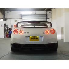 Nissan R35 GTR Carbon Spoiler Raisers