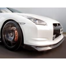 Nissan R35 GTR KR Hybrid Carbon Front Splitter