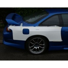 Nissan S14 S14A 40mm wider rear fenders